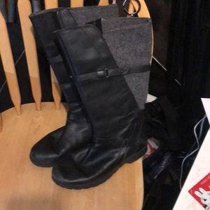 Teva boots leather